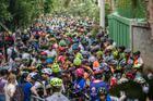 Ciclistas aguardam largada (Wladimir Togumi / Brasil Ride)