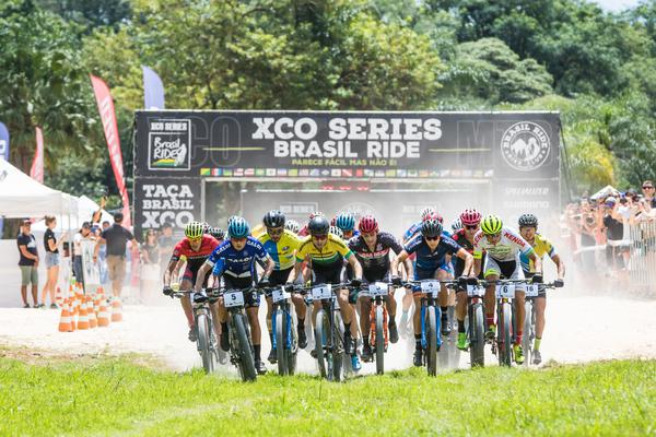 Largada do XCO Brasil Ride (Wladimir Togumi / Brasil Ride)