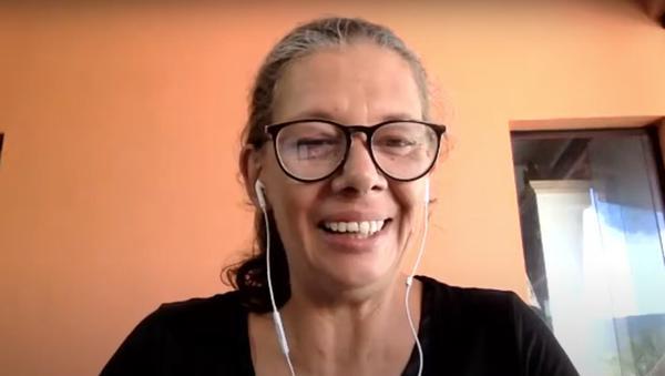 Ana Moser participou dos lançamentos da Caravana EAD