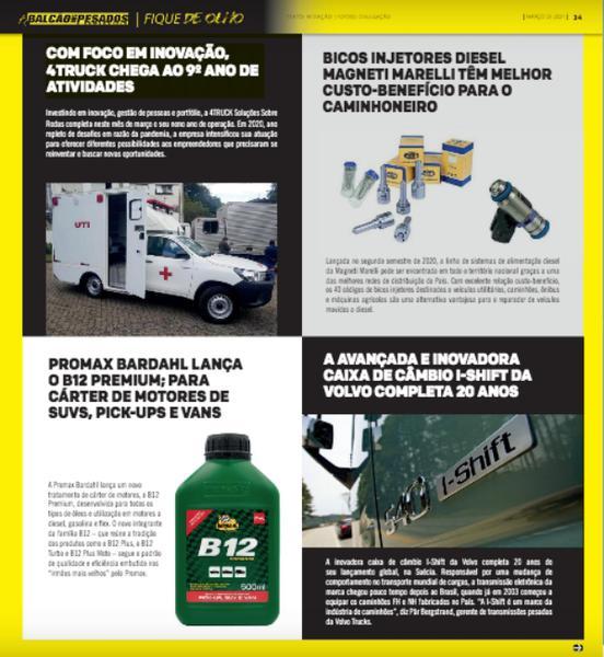Promax Bardahl é destaque no Jornal Balcão Automotivo