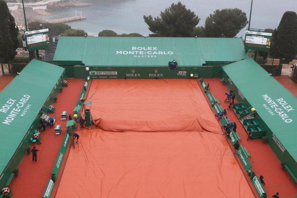 Dia de chuva em Mônaco, alterando a rodada