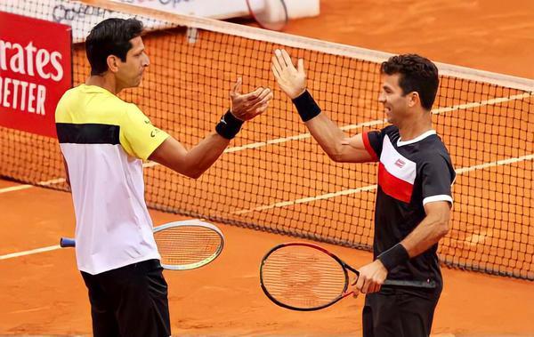 Melo e Rojer fizeram os últimos jogos na Espanha