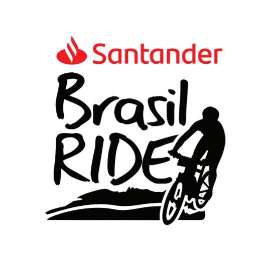 Logomarca Santander Brasil Ride (Divulgação)