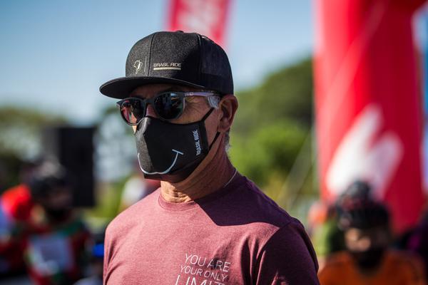 Mario Roma durante o Festival Brasil Ride (Fabio Piva / Brasil Ride)