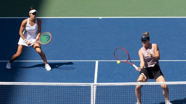 Luisa e Gabriela na semifinal do US Open