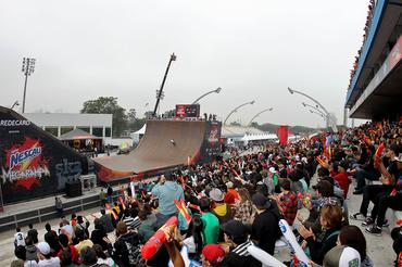 Grande público no Sambódromo