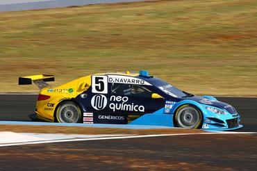 Denis Navarro #5 na Stock Car