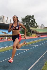 <p>Andressa Fidelis correrá os 100m rasos</p>