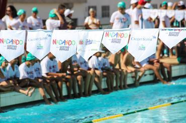Nadando com Gustavo Borges terá seu primeiro festival de natação