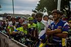 Grupo de ciclistas de Botucatu (Ney Evangelista/ Brasil Ride Botucatu)