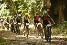 Ciclistas passam pelo Parque Pau Brasil (Sportograf / Brasil Ride)