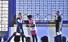 Pedido de casamento no palco da Brasil Ride (Sportograf / Brasil Ride)