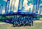 Mecânicos da Shimano na Brasil Ride (ZDL / Divulgação)