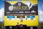 Felicidade de Manu no pódio (Rosita Belinky / Brasil Ride)
