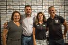 Prefeito de Costa e esposa, ao lado de Andrea e Mario Roma (Fabio Piva / Brasil Ride)