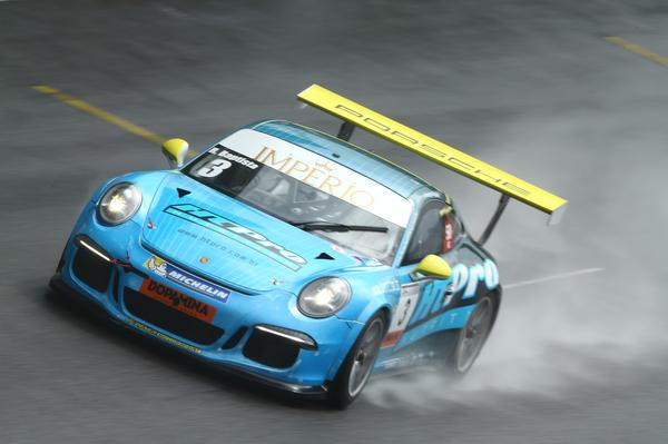 Porsche #3 de Jimenez e Digo