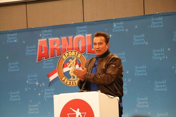 Arnold em Ohio no início de março