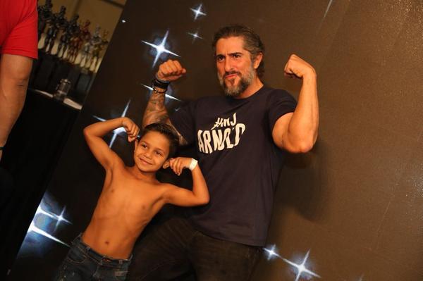 Mion e um futuro atleta