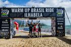 Pódio geral da Warm Up Pro (Ney Evangelista / Brasil Ride)