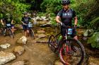 Caco e Caio durante a Warm Up Sport (Ney Evangelista / Brasil Ride)