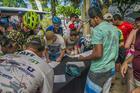 Ciclistas na retirada de kit da Maratona (Marina Magalhães / Brasil Ride)