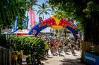 Largada da Brasil Ride em Arraial d'Ajuda (Armin Kuestenbrueck / Brasil Ride)