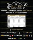 Programação do ao vivo na Brasil Ride 2018 (Divulgação)