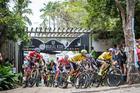 Largada da sexta etapa (Fabio Piva / Brasil Ride)