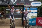 Tiago e Hans, vice-campeões (Fabio Piva / Brasil Ride)