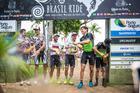 Pódio da sétima etapa (Fabio Piva / Brasil Ride)