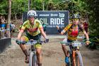 Mayalen e Ilda vencem a última etapa (Wladimir Togumi / Brasil Ride)