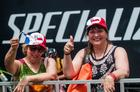 Familiares torcem para os chilenos na Maratona (Ney Evangelista /Brasil Ride)
