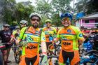 Chilenos competiram na Maratona (Wladimir Togumi / Brasil Ride)