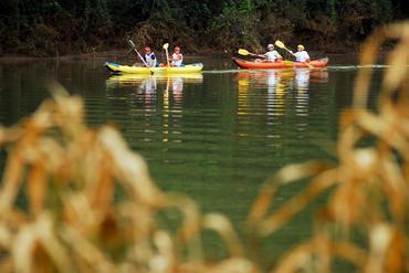 Canoagem no Rio do Peixe