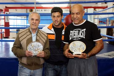 Éder Jofre, Michael e Miguel de Oliveira