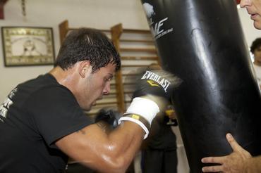 Michael Oliveira em ação